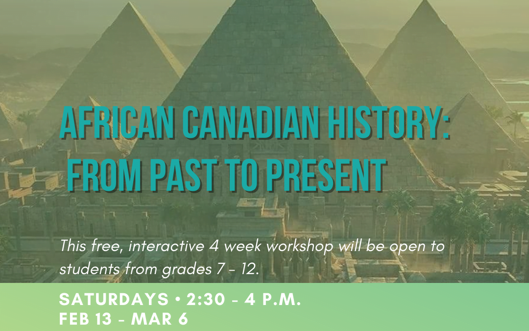 African Canadian History: From Past to Present